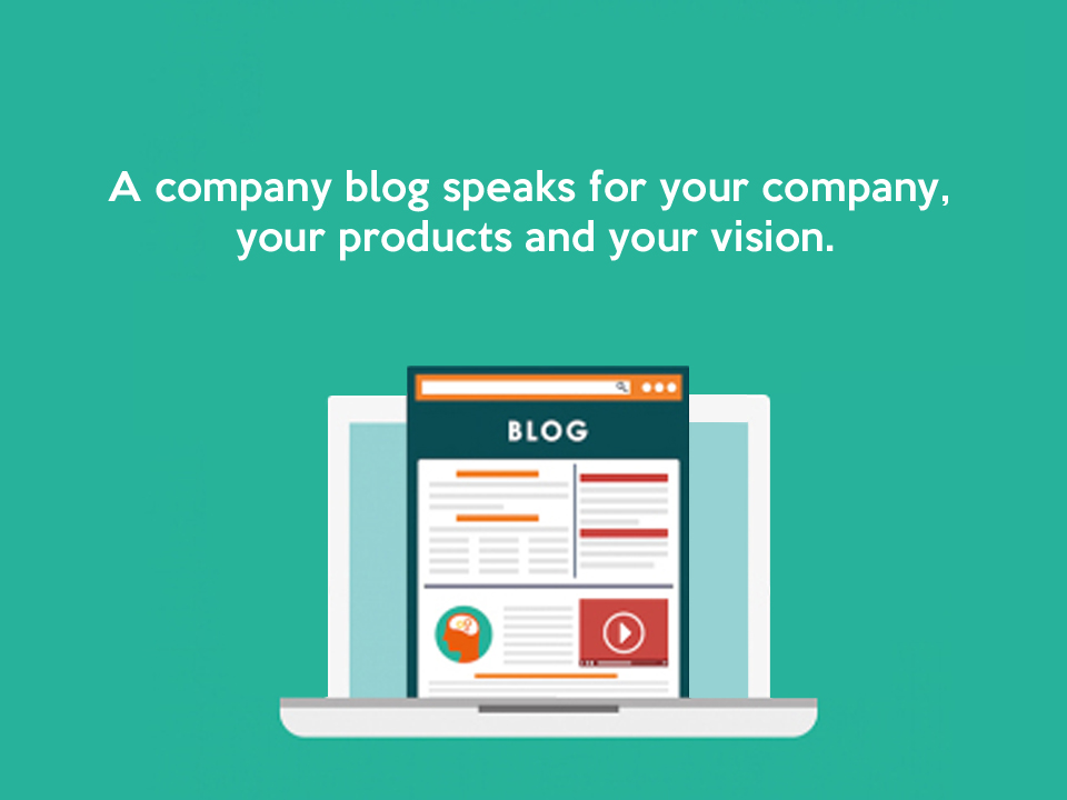 The art of creating a successful company blog simple image